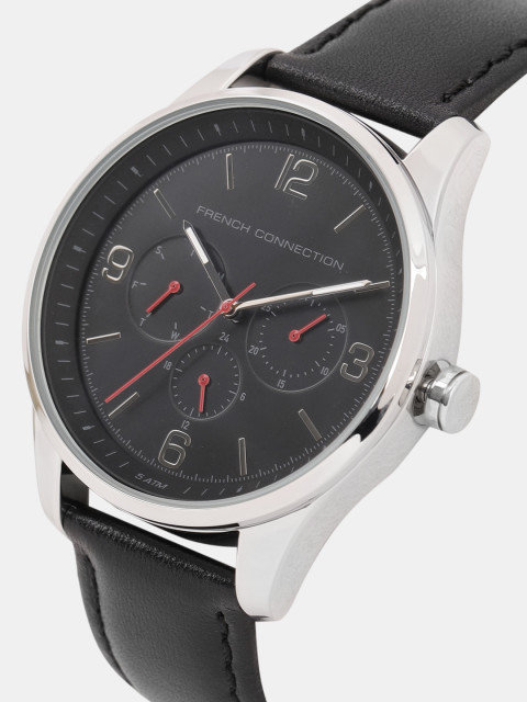 Fcuk FC1307B Black Analog Men's Watch (FC1307B)