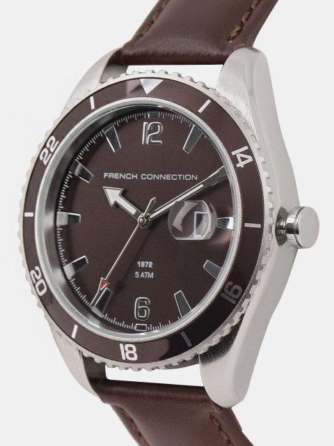 Fcuk FC1309TT Brown Dial Analog Men's Watch