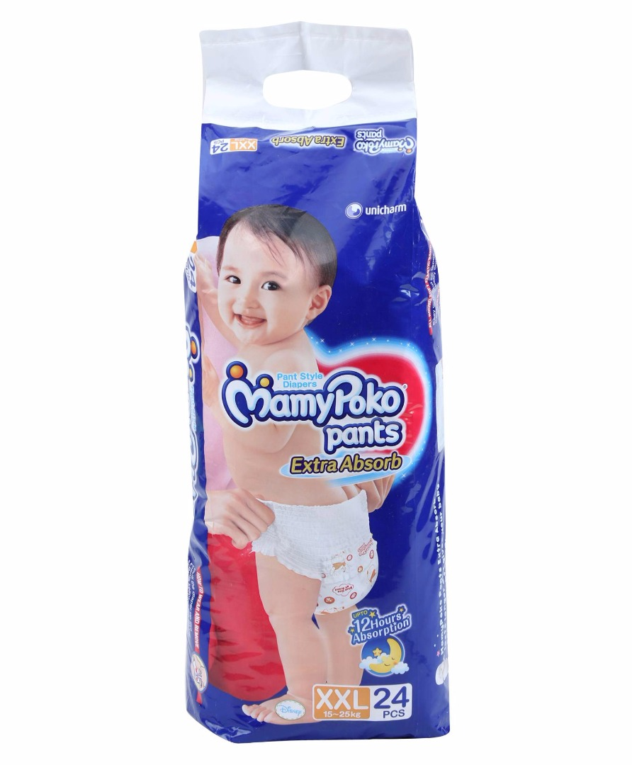 Mamy Poko Pants Extra Absorb XXL Diapers (24 Pieces)