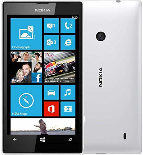 Nokia Lumia 525 White Mobile