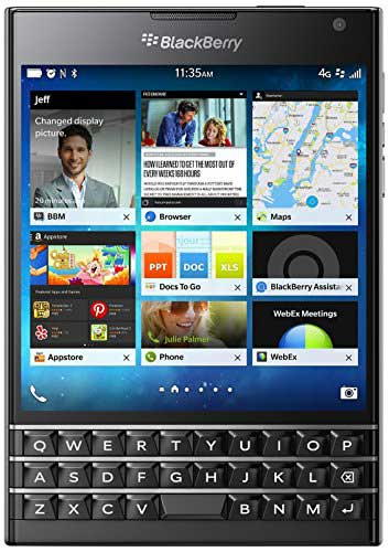 BlackBerry Passport (Blackberry Passport) 32GB Black Mobile