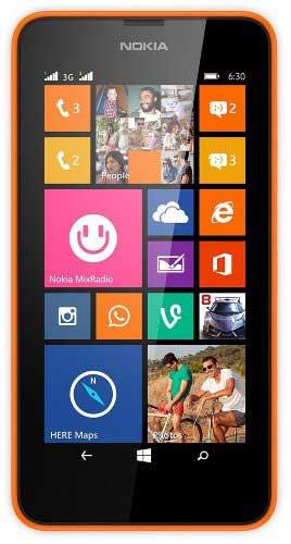 Nokia Lumia 630 Orange Mobile