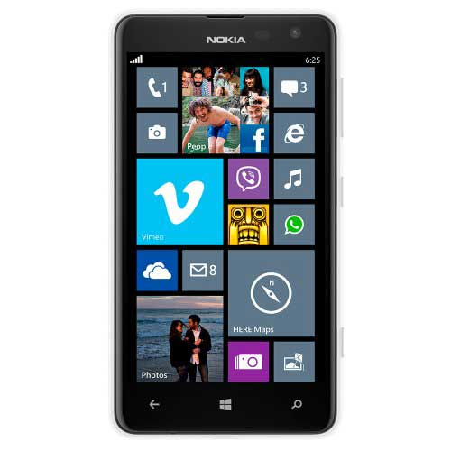 Nokia Lumia 625 White Mobile