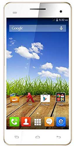 Micromax Canvas HD Plus A190 (Micromax A190) 8GB White Mobile
