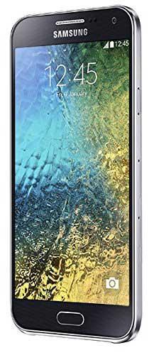 Samsung Galaxy E5 (Samsung SM-E500HZWDINS) 16GB Black Mobile