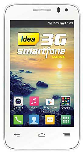 IDEA MAGNA 4 GB White Mobile