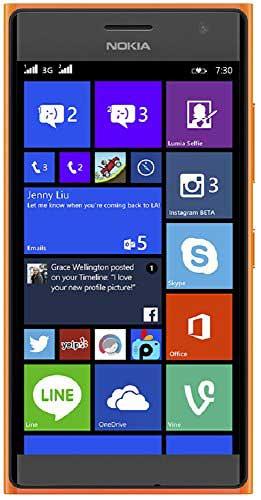 Nokia Lumia 730 8GB Orange Mobile