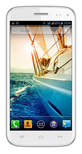 Micromax Canvas Turbo Mini A200 (Micromax A200) 4GB White Mobile