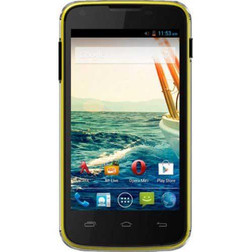 Micromax Unite A092 8GB Yellow Mobile