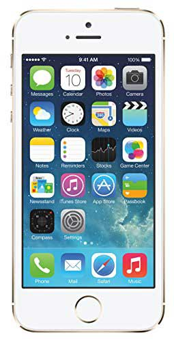Apple iPhone 5s 16GB Gold Mobile