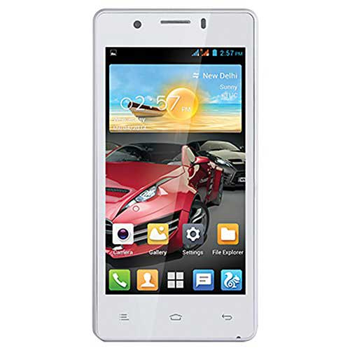 Gionee Pioneer P4 8GB White Mobile