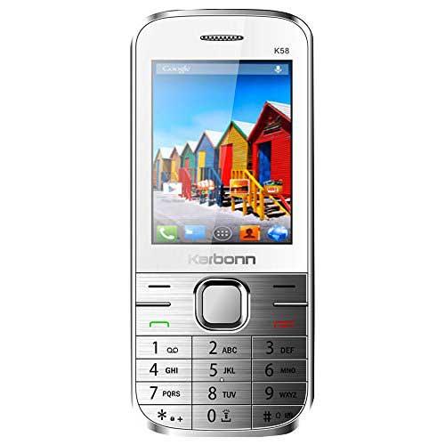Karbonn K58 White Mobile