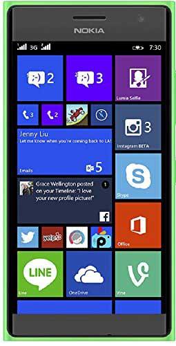 Nokia Lumia 730 Green Mobile