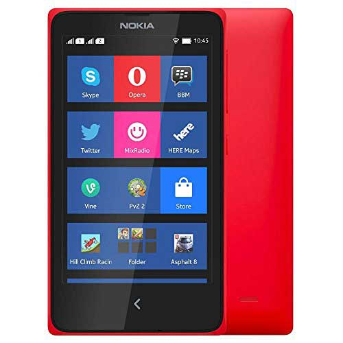 Nokia X 4 GB Red Mobile