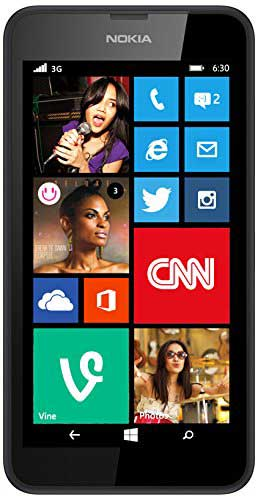 Nokia Lumia 630 8GB Black Mobile