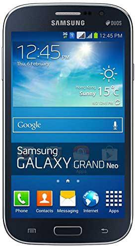 Samsung Galaxy Grand Neo GT-I9060 8GB Black Mobile