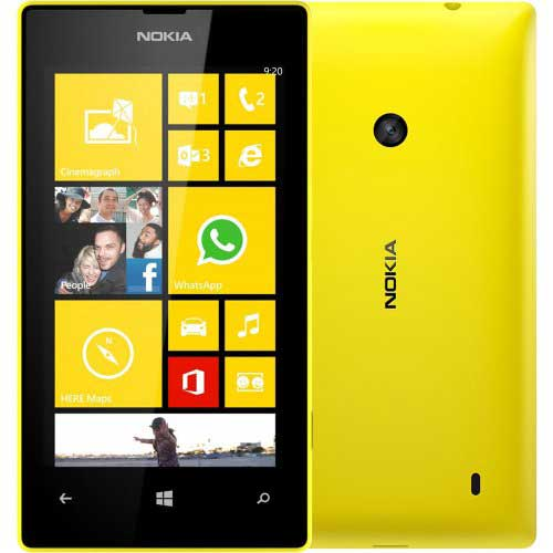 Nokia Lumia 525 8GB Yellow Mobile