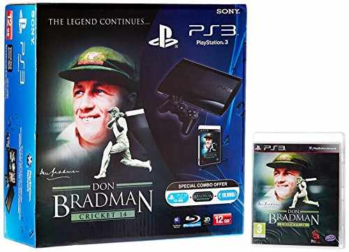 Sony PS3 12GB Console (Free Game: Don Bradman Cricket 14)