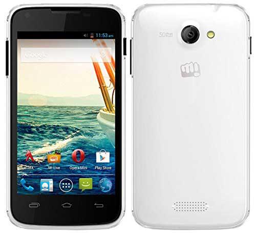 Micromax Unite A092 8GB White Mobile