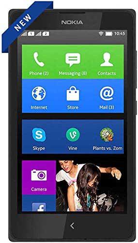 Nokia X+ 4GB Black Mobile