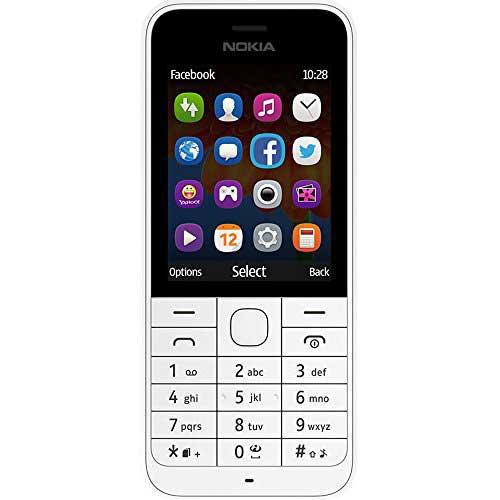 Nokia 220 128 MB White Mobile