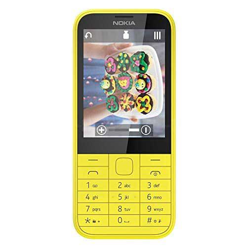 Nokia 225 128 MB Yellow Mobile