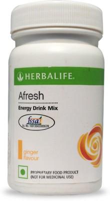 Herbalife Afresh Ginger Flavour Energy Drink Mix - 50 gms