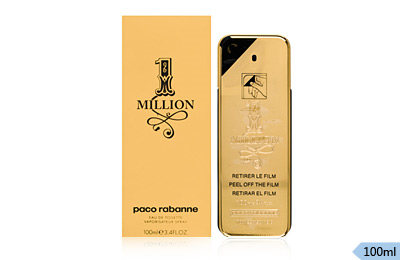 Paco Rabanne One Million EDT For Men 100 ml