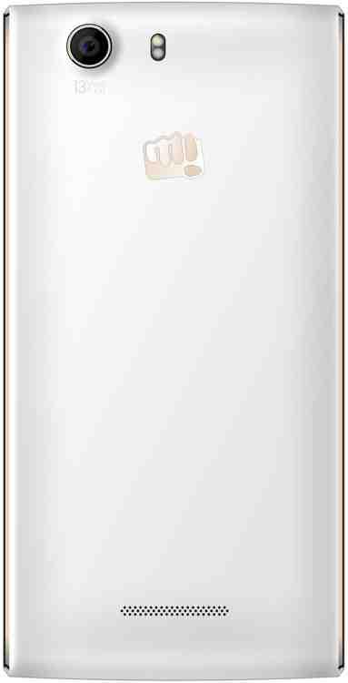 Micromax Canvas Nitro 2 E311 (Micromax E311) 16GB Gold White Mobile