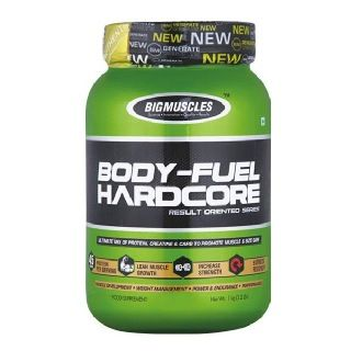 Big Muscles Body Fuel Hard Core (1Kg, Strawberry)