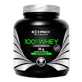 Six Pack Nutrition 100% Whey Protein (2Kg, Vanilla)