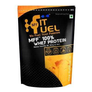 MyFitFuel 100% Whey Protein (900gm, Vanilla)