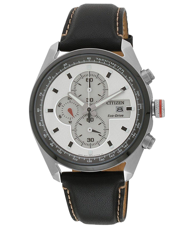 Citizen Eco-Drive CA0361-04A Analog White Dial Men's Watch