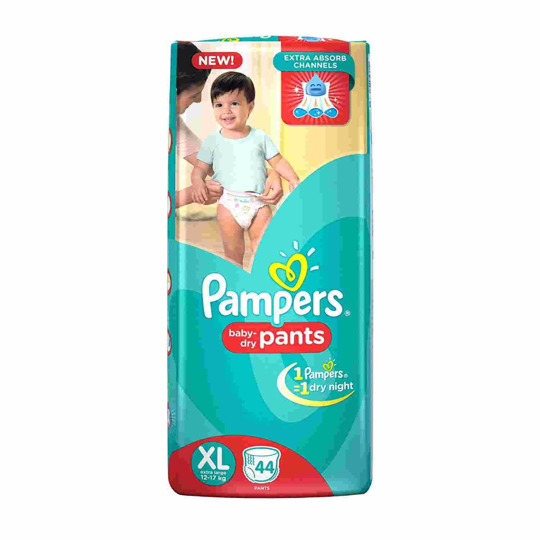 Pampers Pants Baby XL Diaper (44 Pieces)
