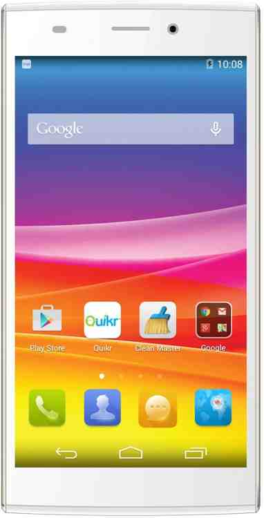 Micromax Canvas Nitro 2 E311 (Micromax E311) 16GB Gold White Mobile