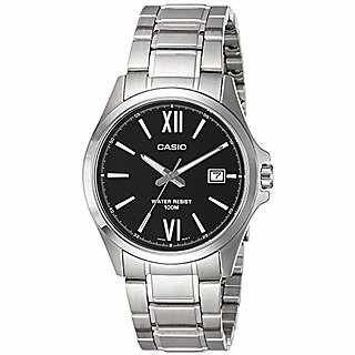 Casio Enticer MTP-1376D-1AVDF (A828) Analog Black Dial Men'ss Watch (MTP-1376D-1AVDF (A828))