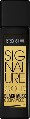 AXE Signature Gold Black Musk & Cedar Wood Perfume EDT 80 ml