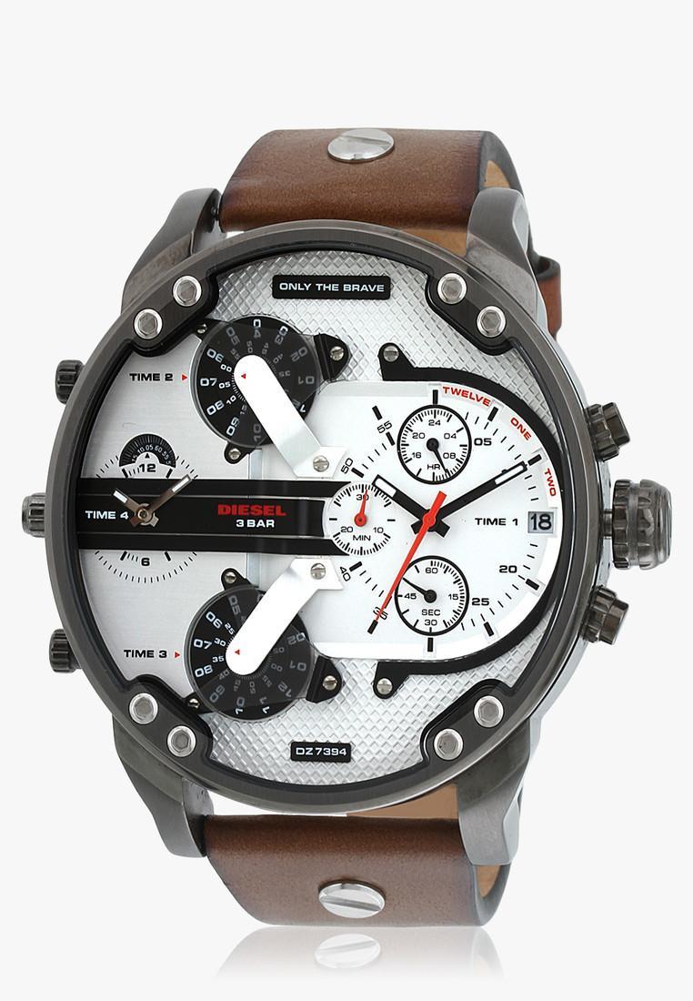 Diesel DZ7394I Silver Toned Analogue Men's Watch