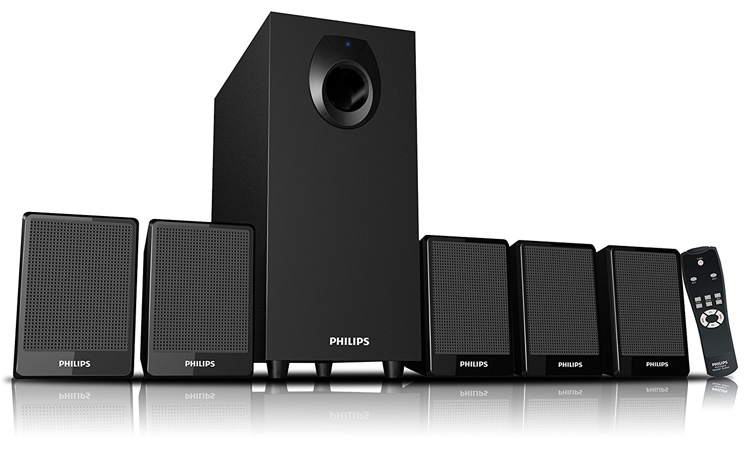 Philips DSP 2800 5.1 Channel Multimedia Speakers