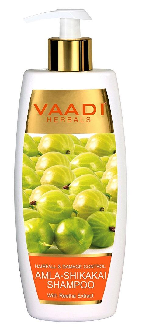 Vaadi Herbals Amla Shikakai Shampoo Hairfall and Damage Control 350gm