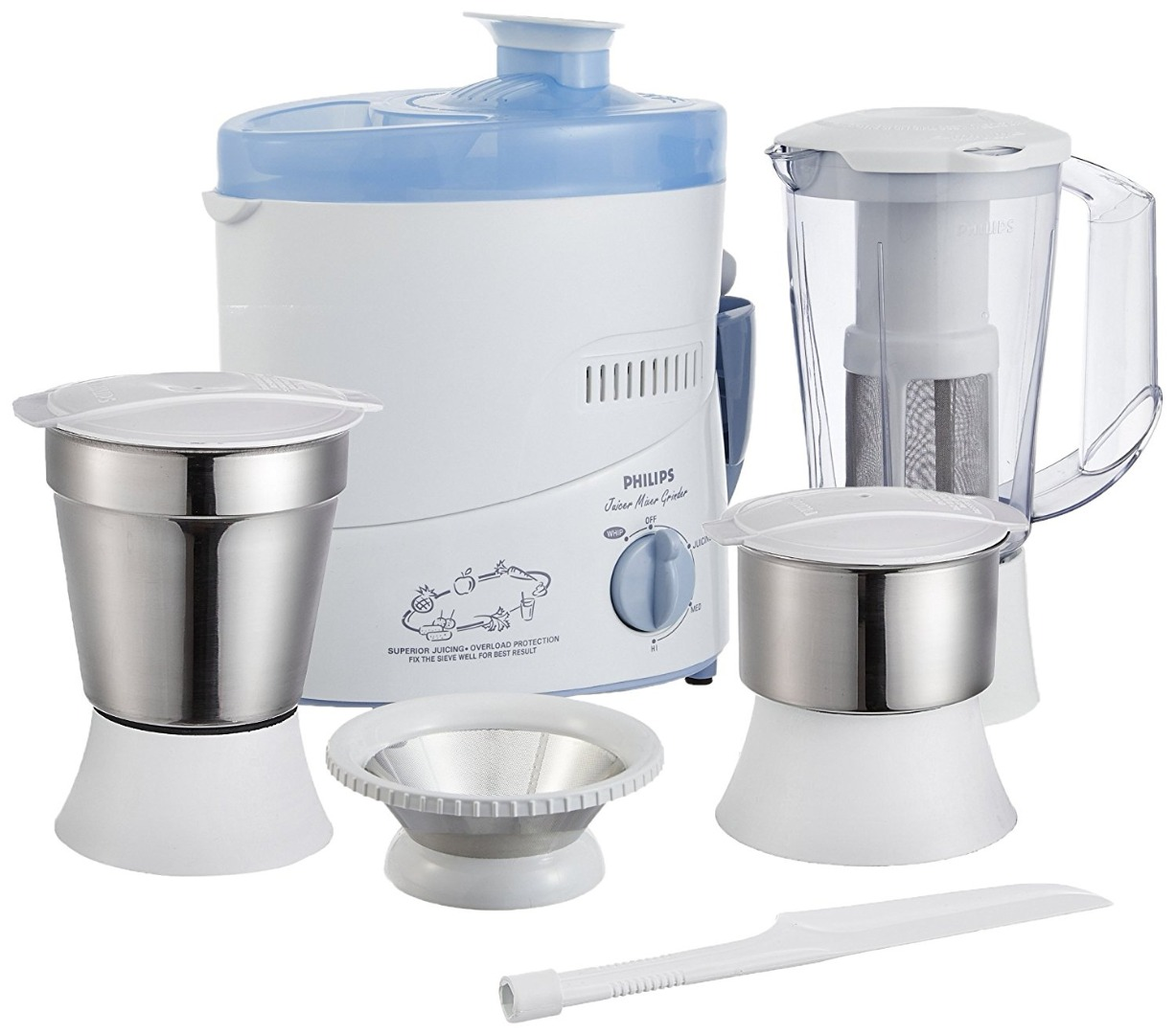 34e3f9579 Philips HL1632 3 Jars 500W Juicer Mixer Grinder Coupons  Product ...