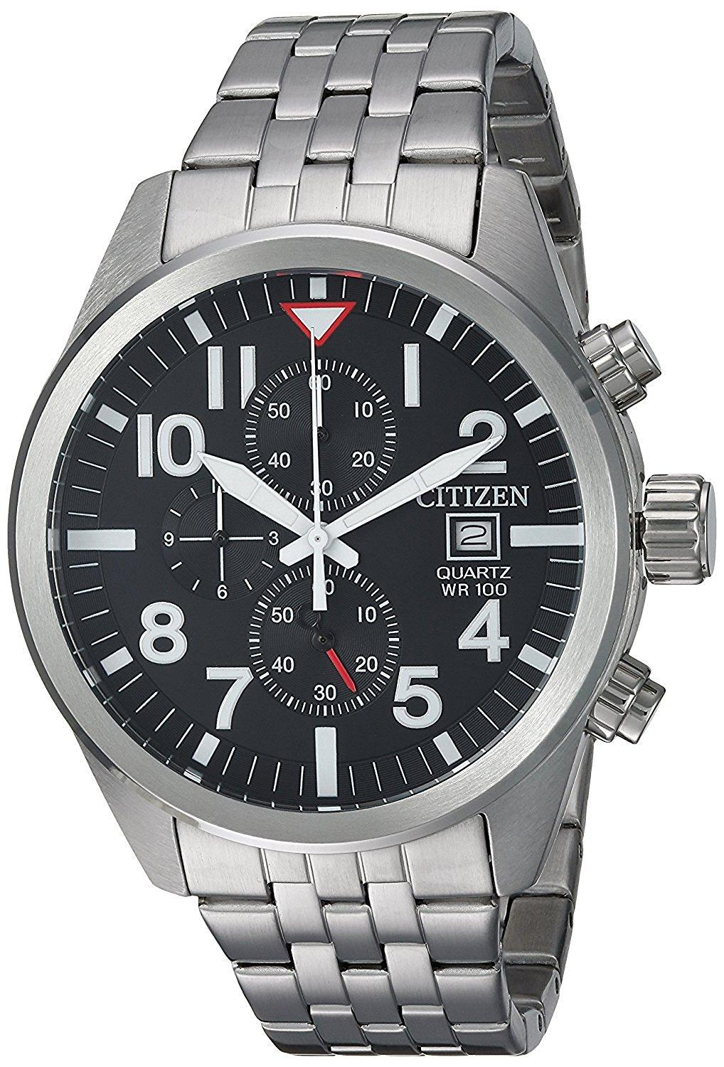 Citizen AN3620-51E Chronograph Black Dial Men's Watch