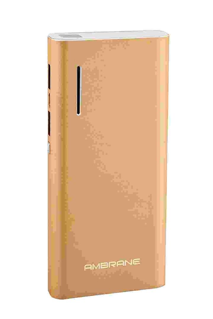 Ambrane P-1313 13000mAh Power Bank (Gold)