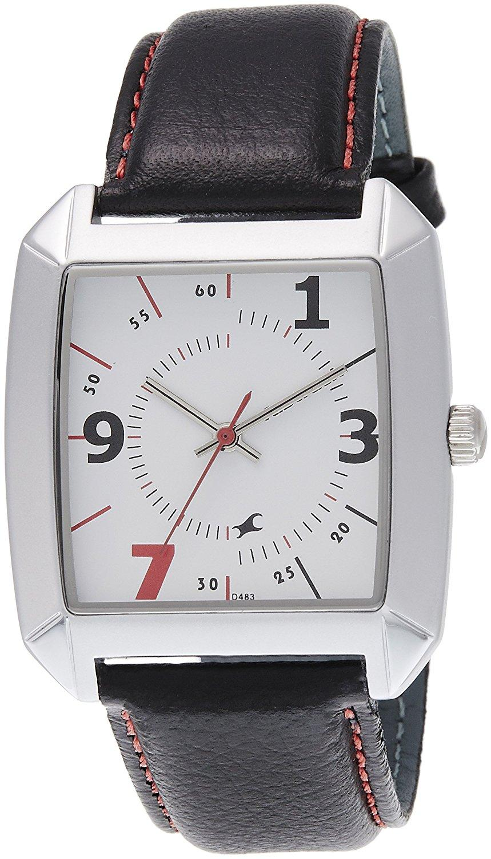 Fastrack NE9336SL01J Analog White Dial Men's Watch