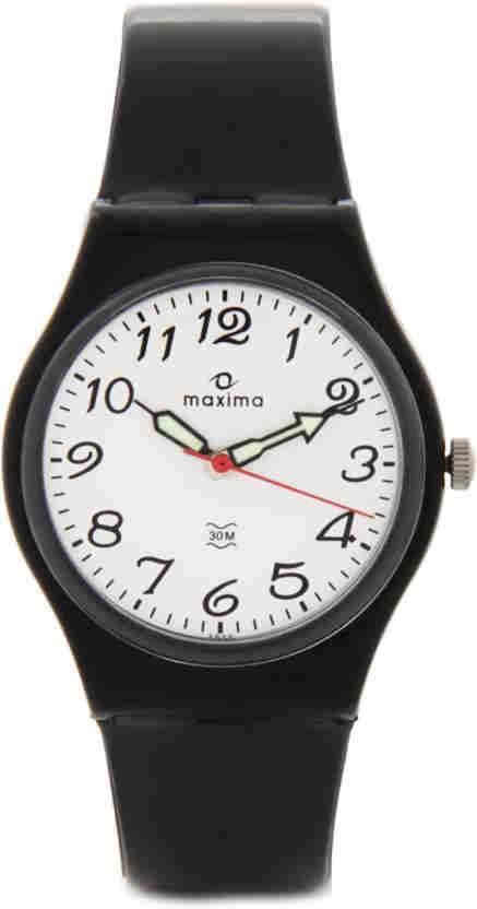 Maxima 02020PPGW Quartz Round Men Watch
