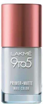 Lakme 9 to 5 Primer + Matte Topcoat Nail Enamel