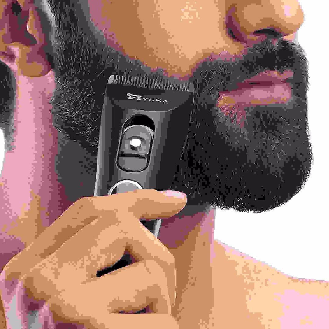 SYSKA HC006 Hair and Beard Trimmer (Black)
