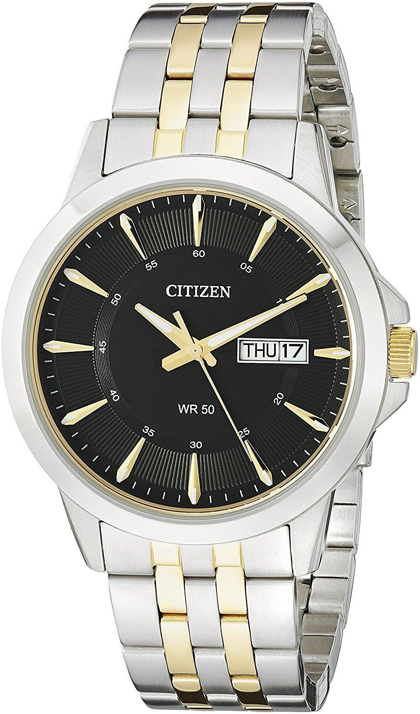Citizen BF2018-52E Two-Tone Stainless Steel Bracelet Men's Watch (BF2018-52E)