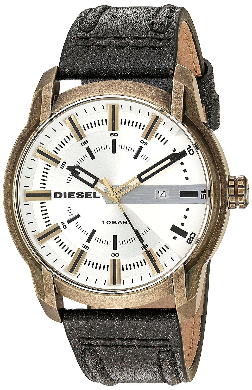 Diesel DZ1812 Analog Silver Dial Men's Watch