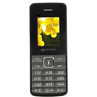 Micromax X408 Black Mobile